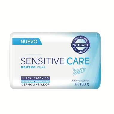 JABÓN EN BARRA ZEST SENSITIVE CARE NEUTRO PURE