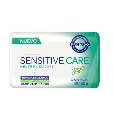 JABÓN EN BARRA ZEST JAB SENSITIVE CARE NEUTRO DELICATE